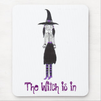 The Witch Is In Mouse Pad