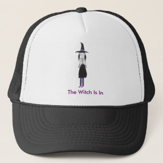 The Witch Is In Trucker Hat