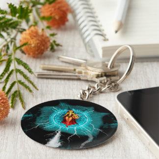 The witch basic round button keychain