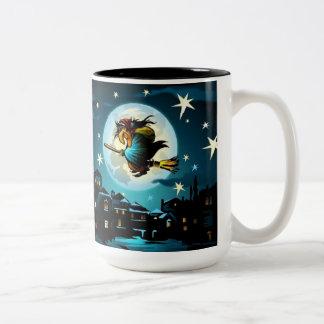 The Witch`s Broom Mug