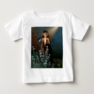 The witch speaks with their firefly in the night t shirt