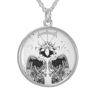 """""""The Witch"""", Sterling Silver Necklace"""