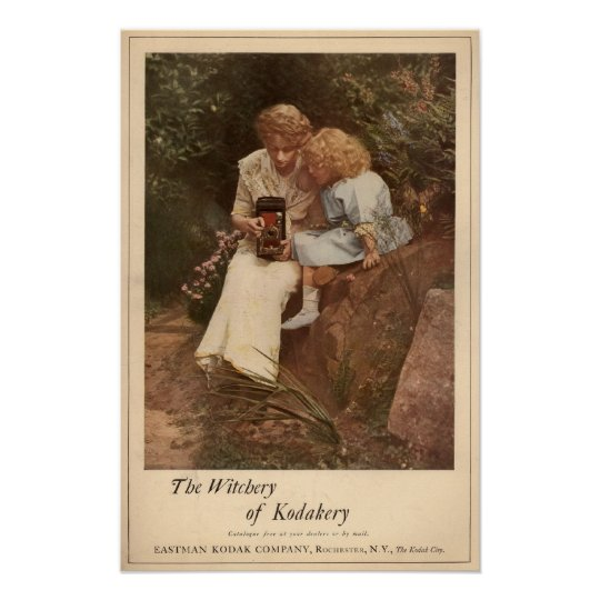 The Witchery of Kodak Poster