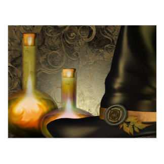 The Witches Hat Postcard