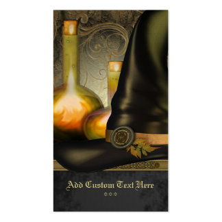 The Witches Hat Social Profile Card Business Card