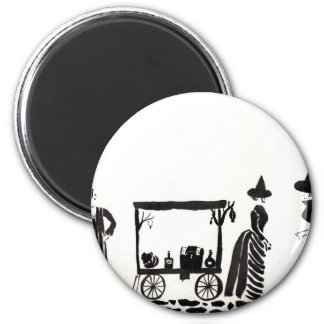 The Witches' Market Magnet