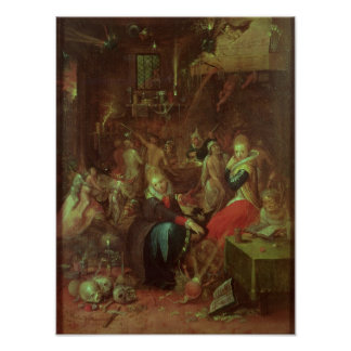 The Witches' Sabbath, 1606 Poster
