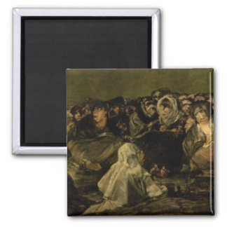 The Witches' Sabbath 2 Inch Square Magnet