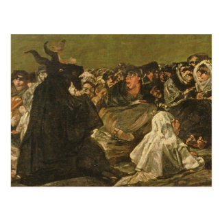 The Witches' Sabbath or The Great He-goat Postcard