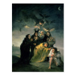 The Witches' Sabbath Postcard