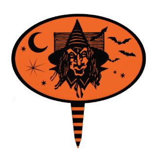 The Witches Treat Cake Topper