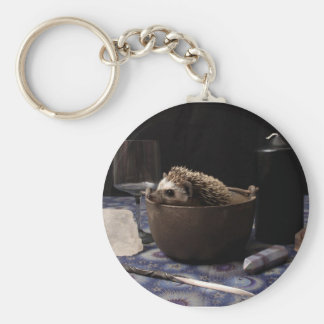 The Witching Hour Basic Round Button Keychain