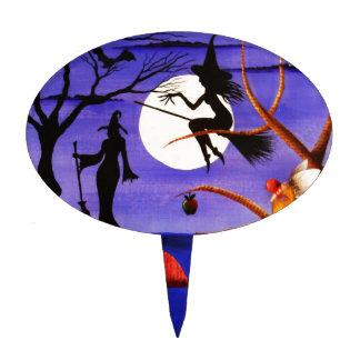 The Witching Hour Cake Topper