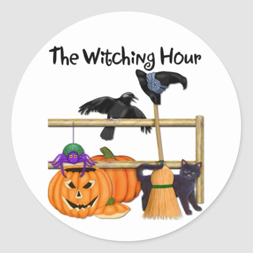The Witching Hour Sticker