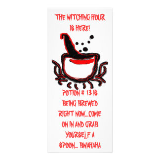 THE WITCHING HOUR, ZAZZLE Rack Card