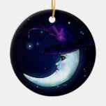 The Witching Moon Ceramic Ornament