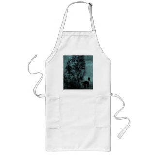 The Witch's Cat Long Apron