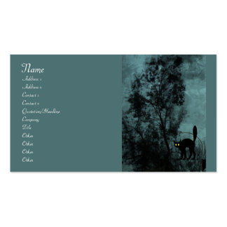 The Witch's Cat Double-Sided Standard Business Cards (Pack Of 100)