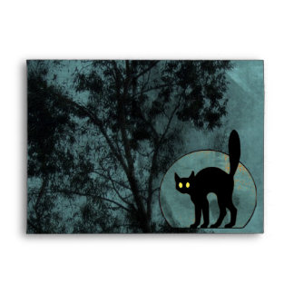 The Witch's Cat Envelope