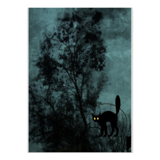 The Witch's Cat Poster