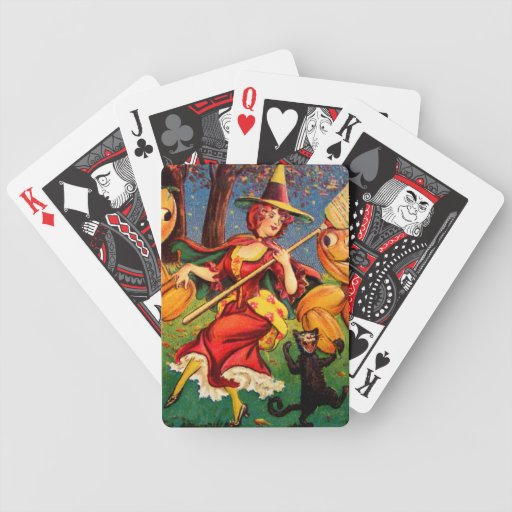 The Witch's Dance Bicycle Playing Cards