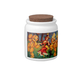 The Witch's Dance Candy Jar