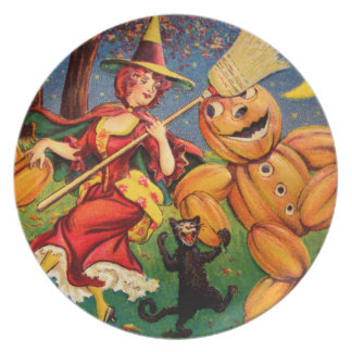The Witch's Dance Dinner Plate