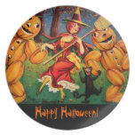 The Witch's Dance Dinner Plates