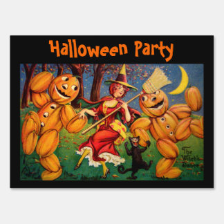 The Witch's Dance Lawn Sign