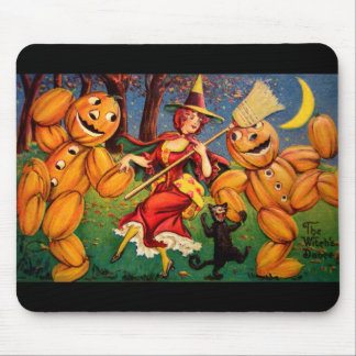 The Witch's Dance Mouse Pad