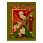 The Witch's Friend November Magazine Postcard