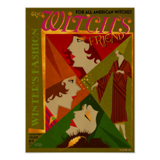 The Witch's Friend November Magazine Poster