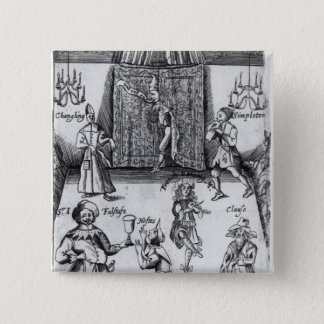 The Wits, or, Sport upon Sport, 1662 Button
