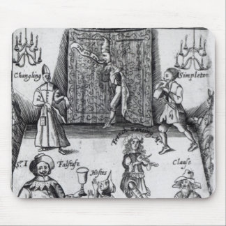 The Wits, or, Sport upon Sport, 1662 Mouse Pad