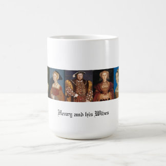 The Wives of Henry VIII Classic White Coffee Mug
