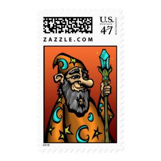 The Wiz-ED Postage Stamp