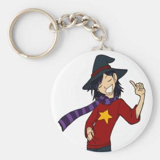 The Wizard Dwayne Keychain