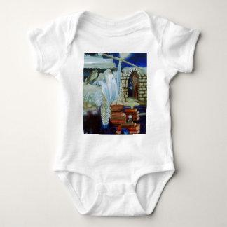The Wizard Empowered  CricketDiane Art & Design Baby Bodysuit