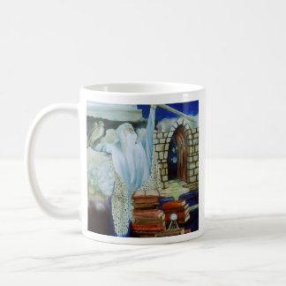 The Wizard Empowered CricketDiane Art Design Coffee Mugs