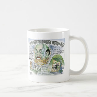 The Wizard of Debt Classic White Coffee Mug