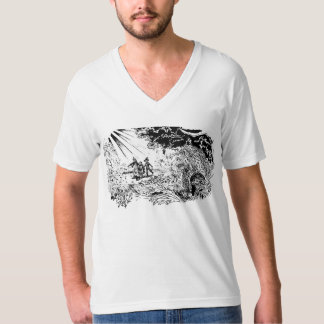 The Wizard of Oz - Cowardly Lion meets his friends T-Shirt