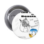 The Wizard of Oz - illustration 2 Inch Round Button