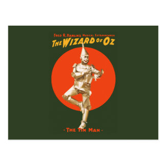 The wizard of Oz Musical Extravaganza Postcard