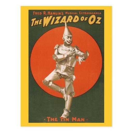 The Wizard of Oz Musical - The Tin Man Postcard