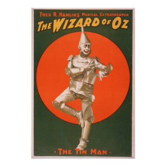 """""""The wizard of Oz"""" Musical Theatre Poster #2"""