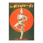 """""""The wizard of Oz"""" Musical Theatre Poster #2 Canvas Print"""