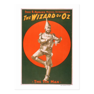 """The wizard of Oz"" Musical Theatre Poster #2 Postcard"