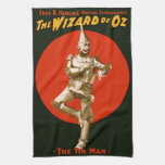 The Wizard of Oz Tin Man Vintage Poster 1903 Hand Towel
