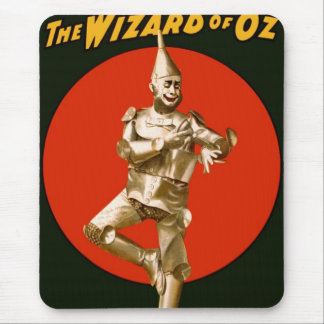 The Wizard of Oz Tin Man Vintage Poster 1903 Mouse Pad