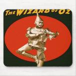 The Wizard of Oz Tin Man Vintage Poster 1903 Mousepad